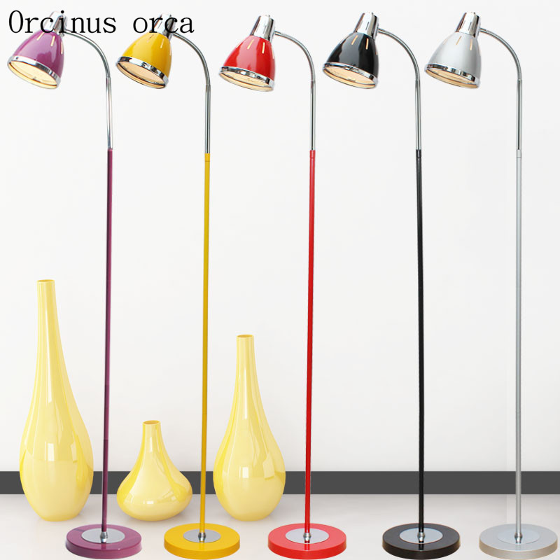 Nordic  floor lamp living room bedroom study eye protection lamp tattoo embroidery nail beauty lamp Postage freeNordic  floor lamp living room bedroom study eye protection lamp tattoo embroidery nail beauty lamp Postage free