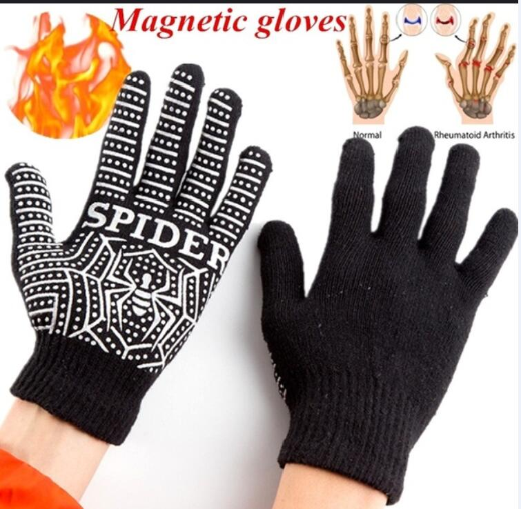 1Pair Anti Arthritis Joints Magnetic Hands Braces Gloves Rheumatoid Hand Pain Relief Copper Therapy Massage Compression Gloves screenshot