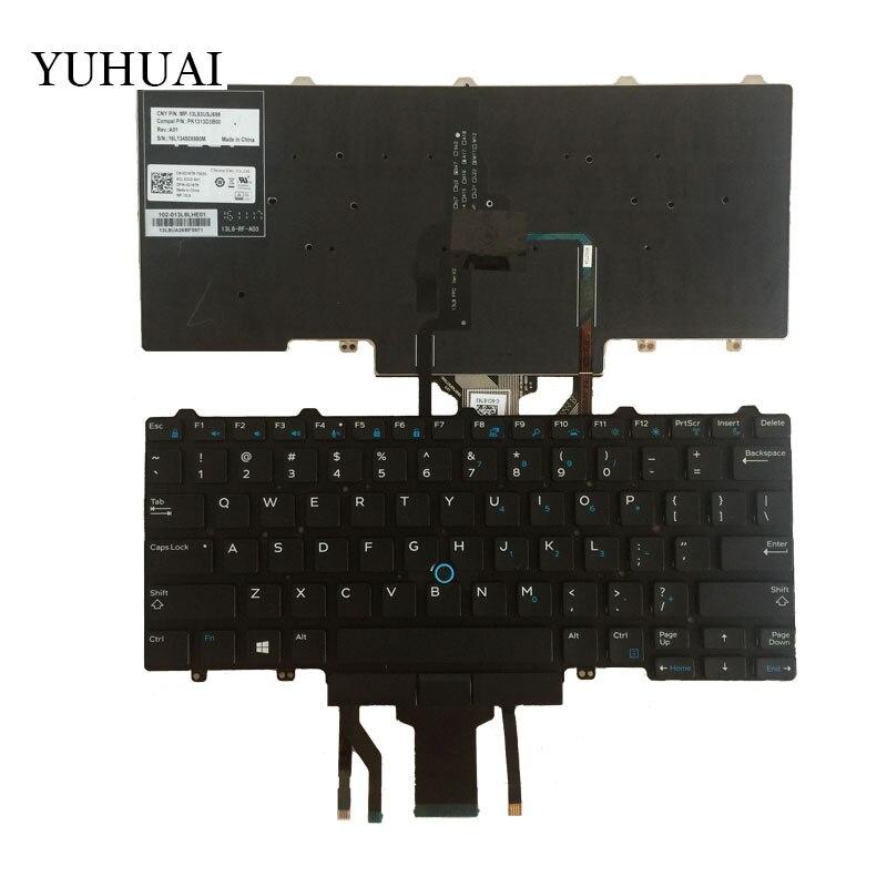 US 0PXWGK NSK-LKABC Keyboard for Dell Latitude 3340 3350 7350