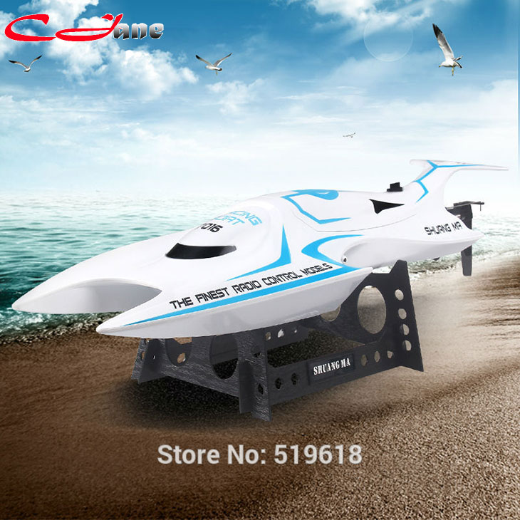 ФОТО Shuangma 7016 racing 2.4 G remote control boat sailing model beach in summer Water toys