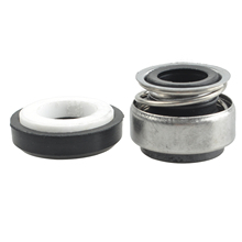 Brand New 12mm Coiled Spring Rubber Bellow Pump Mechanical Seal 301-12 цена