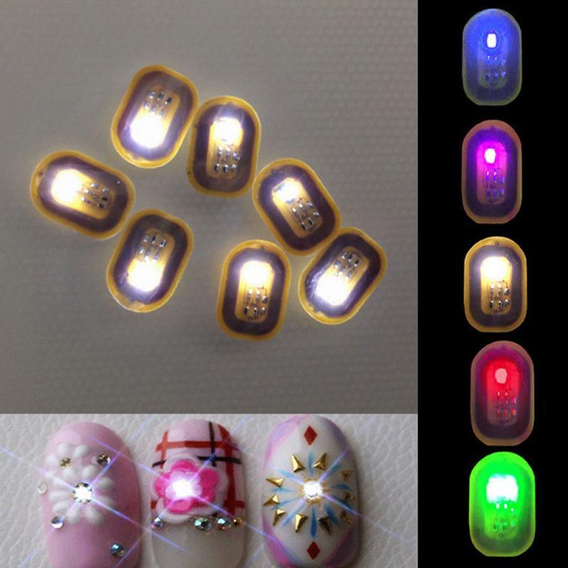 1PCS Women Fashion NFC Nail Art Tips DIY Stickers Phone Induction ...