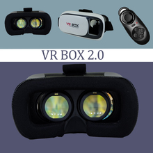 Virtual Reality 3D Glasses Myopia User Support Newly Upgraded VR BOX +Smart Bluetooth Gamepad Excellent Quality Adult Applicable