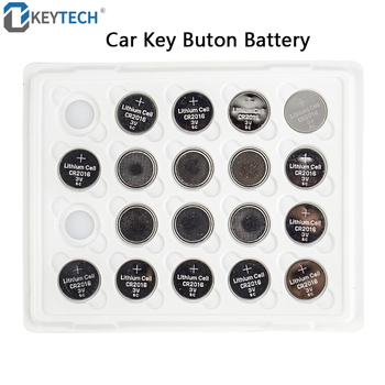 OkeyTech 50PCS/LOT Panasonic 100% Original CR1620 CR2016 CR2025 CR2032 Button Cell Battery For Car Remote Key 3V Lithium Battery image
