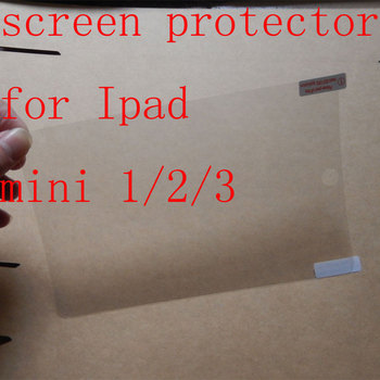 100pcs/lot   For iPad mini 1 2 3  Clear Screen Protector,Front LCD Screen Guard,Protective Film For iPad mini 1/2/3