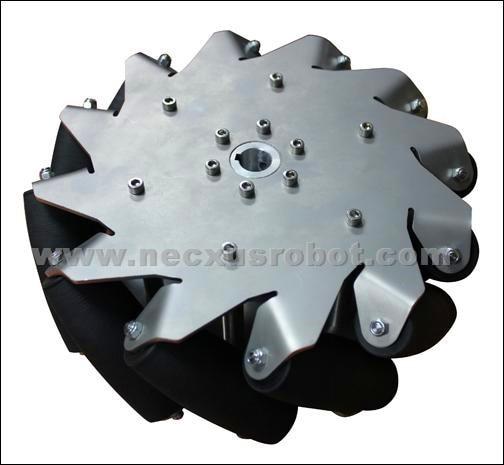 10 Inch Heavy Duty Mecanum Wheel Right Nexus 14140( Load Capacity:80kg/pcs)