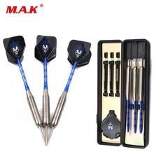 Stainless Stell Tip 28g Darts Marked Aluminum Shaft Darts with Black Skeleton Skull Dart Flight for Adult Sport Play