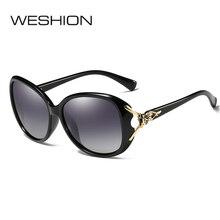 ФОТО weshion gradient sunglasses women polarized small face classic fashion desinger ladies eyeglasses 2018 uv400 gafas de sol hombre