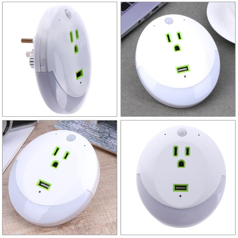 1080P WIFI HD DVR Mini Night Light Wifi Socket Plug Camera Real Wall Socket Video Recorder Cam for baby care