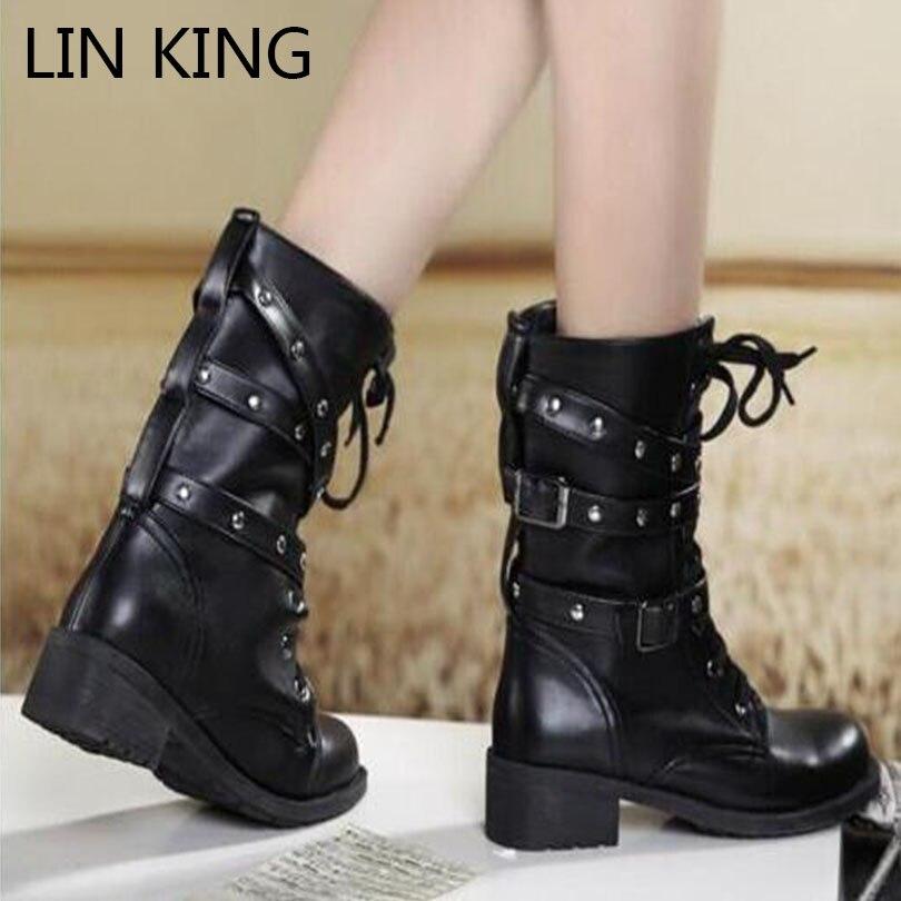 Online Get Cheap Fashion Biker Boots -Aliexpress.com | Alibaba Group