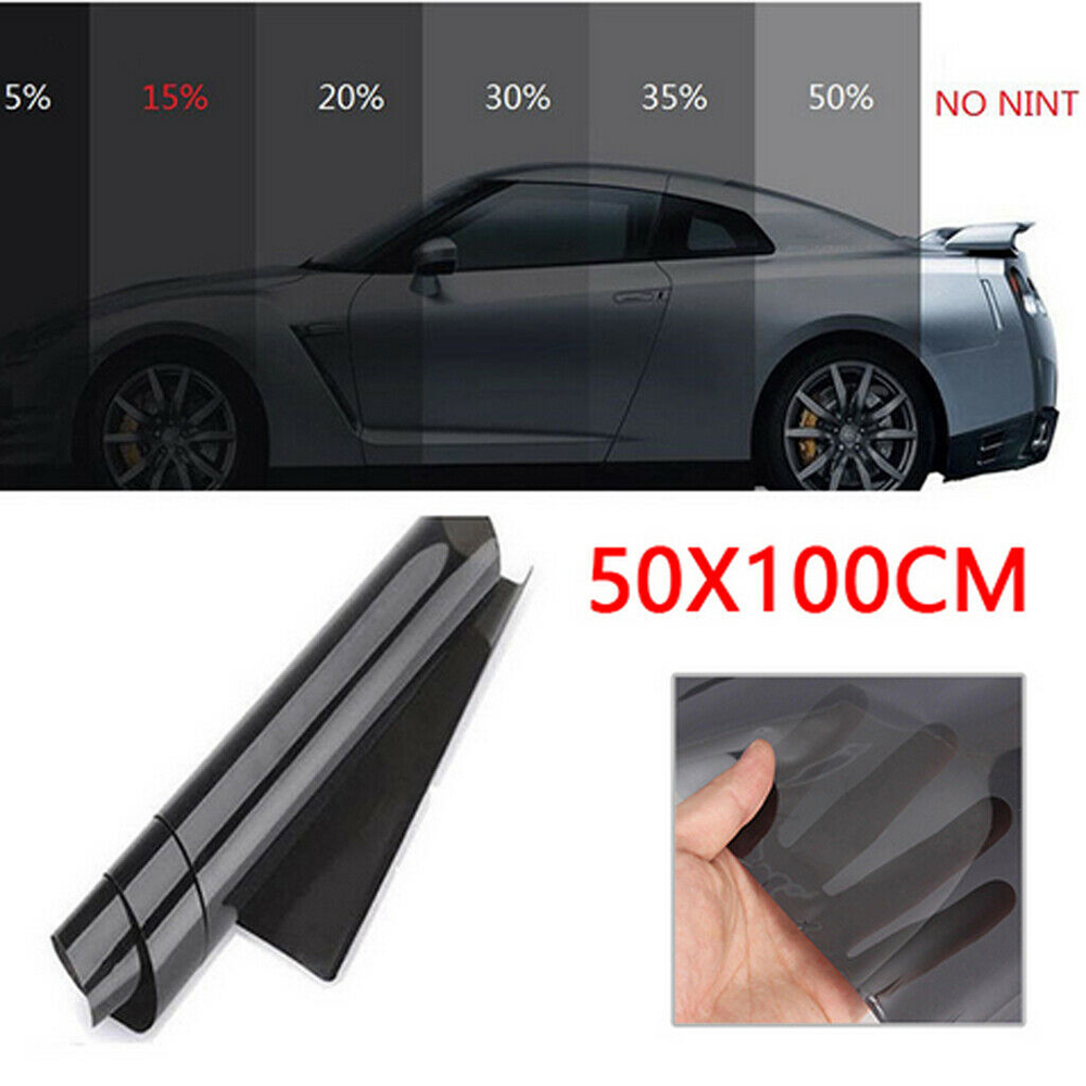 tinting for a car window tint sunscreen auto glass auto-tinting film cars 100x50cm Roll Glass  Solar