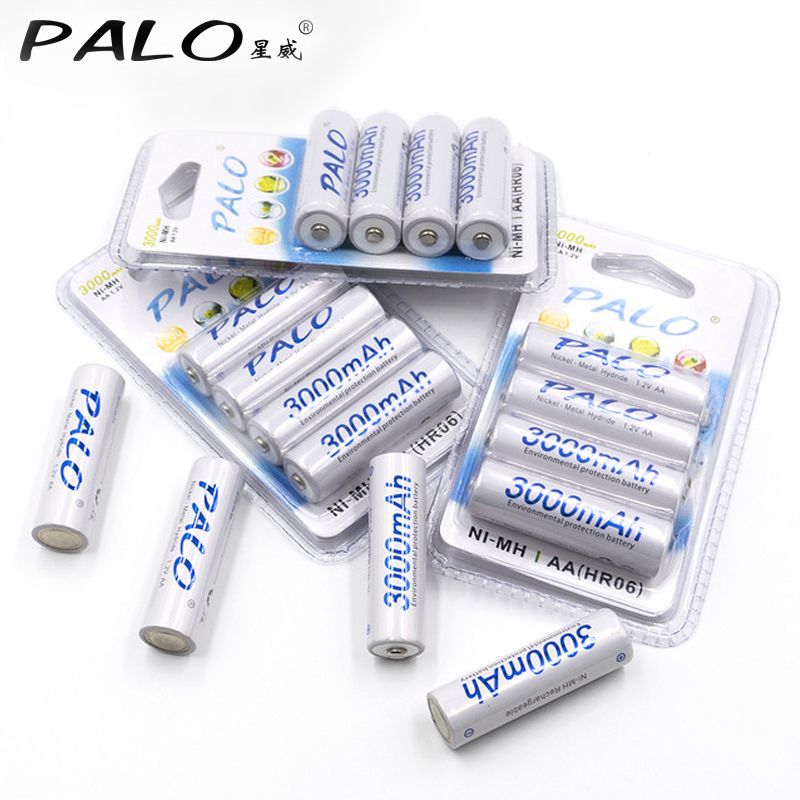 16 Pcs 3000mAh 1.2v AA Rechargeable Battery For LED light Toy placement Battery For Camera MP3 mp4 microphone new 1pc aa 3000mah 1 2v rechargeable battery nimh tip head batteries baterias bateria for flashlight torch camera mp3 mp4