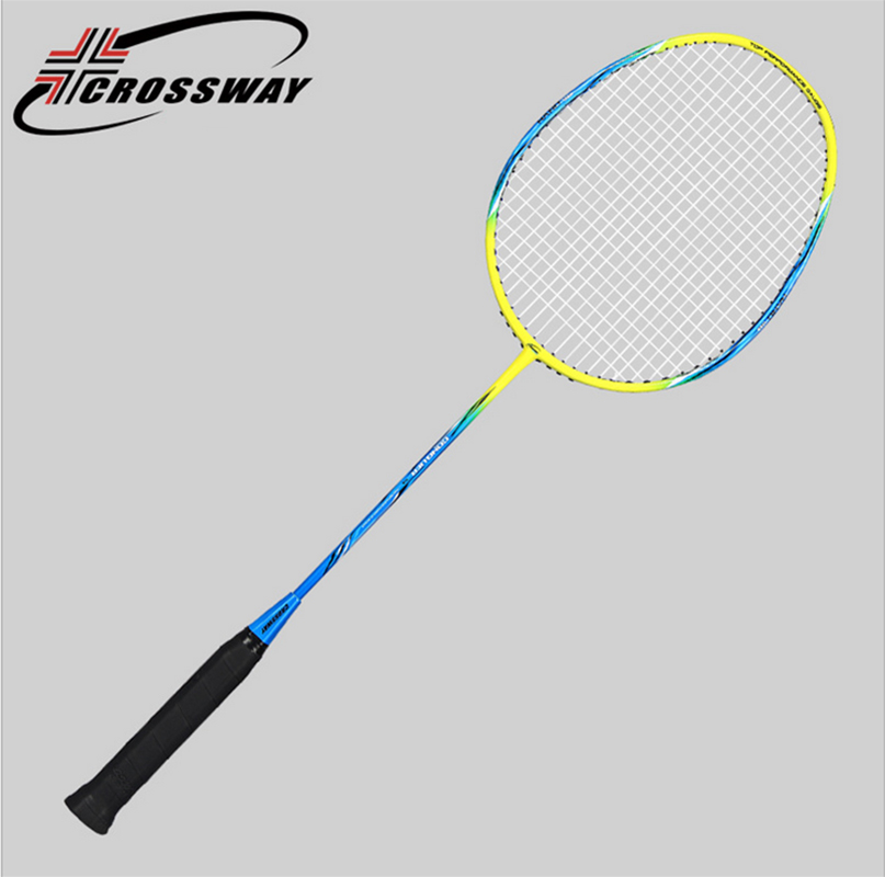 Crossway Professional Light Weight Carbon Badminton Rackets C1-9 yonzhenx 2017 new 3u badminton rackets super light g3 high tension full carbon professional badminton racquet with original bag