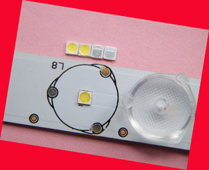 Image 2 - 200piece/lot for repair LCD TV LED backlight Article lamp SMD LEDs 1W 3030 6V Cold white light emitting diode