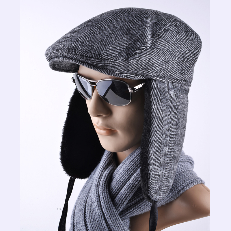 Latest styles Winter hats for Men Bomber Hat Berets Versatile Russian  Trapper Caps Earmuffs gorras Retro bd086aa733e