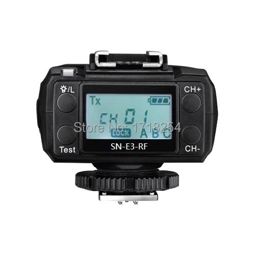 Shanny  SN600C-RF Speedlite 2.4G wireless radio slave flash ,GN60,on-camera TTL,HSS 1/8000s for Canon yongnuo yn685c yn685n flash speedlite gn60 wireless system ttl hss 1 8000s radio slave yn685 for canon nikon yn622n yn622c tx
