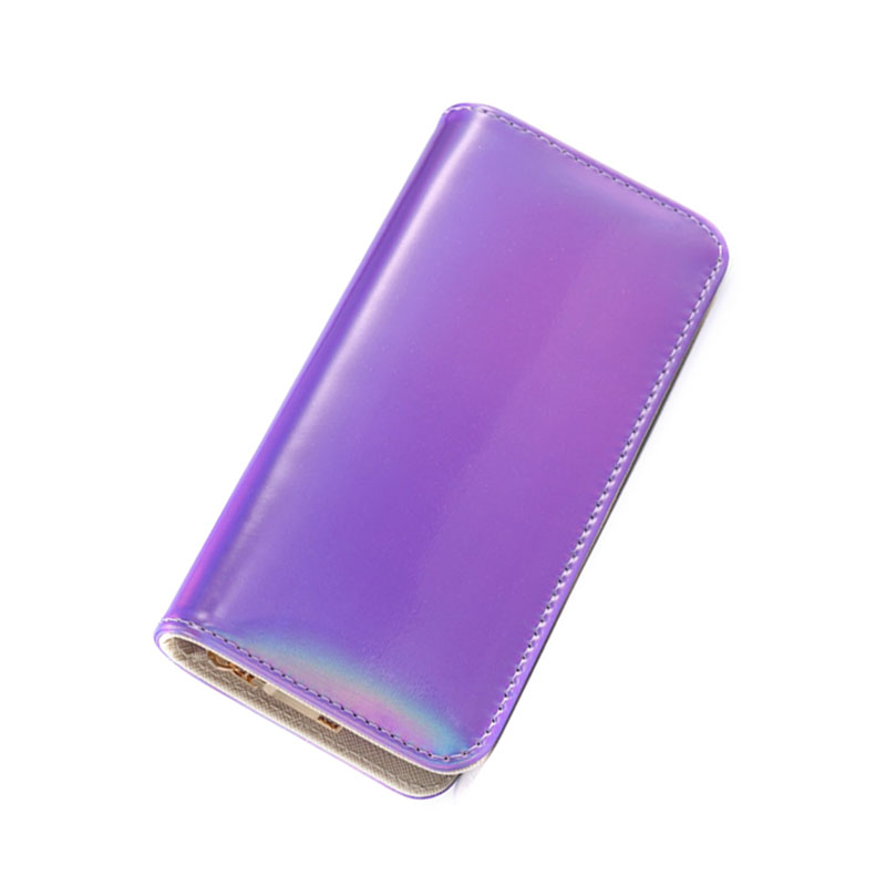 Hologram PU Leather Wallet Zipper Clutch Long Wallet Money Purse for Women Female Organizer Wallet with Card Holder Coin Purse цена и фото