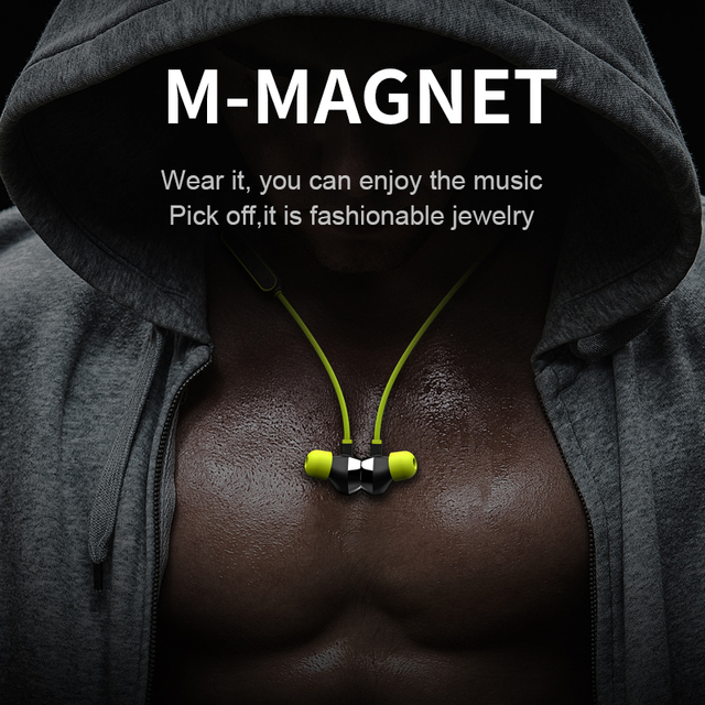 Wireless Headset In-ear Earpiece Sports Stereo Music Earphones For Phones mifo i8 Bluetooth Earphone Magnetic Suction Charging