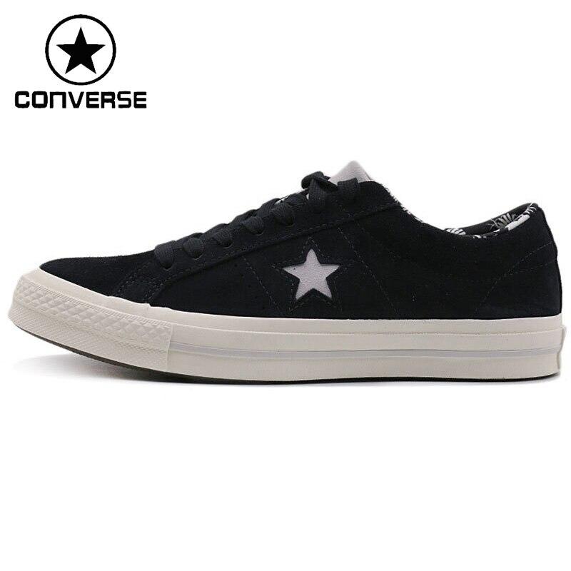 Original New Arrival 2018 Converse One Star Unisex Skateboarding Shoes Leather Sneakers original converse selene monochrome leather women s skateboarding shoes sneakers