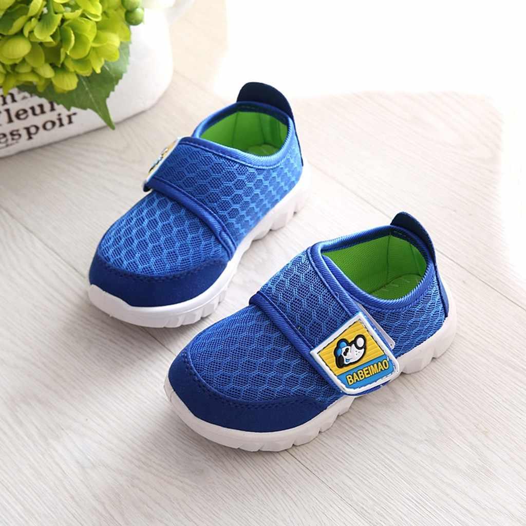 MUQGEW פעוט תינוקות ילדי נעלי תינוק בנות בני סניקרס 2019 ילדי ילדה קריקטורה רשת לרוץ ספורט מקרית סניקרס נעליים