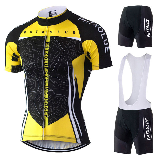 Phtxolue Cycling Jersey 2018 Summer Style Bicycle Mtb Bike Sport Cycling Clothing Set Short Sleeve Maillot Ciclismo Cycling wear