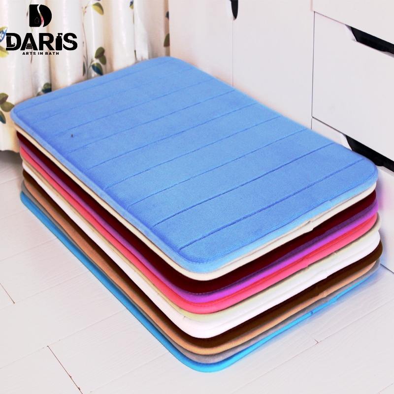SDARISB Water Absorption Rug Bathroom Mat Shaggy Memory Foam Bath Mat Set kitchen Door Floor Mat Carpet For Toilet Non Slip купить в Москве 2019