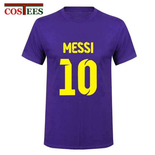 best cheap 117d2 6c399 2017 Lionel Messi Shirt camiseta Barcelona camisa T shirt ...