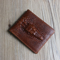 Crocodile Grain genuine leather men wallets clutch Selling Fashion money clip men wallets and purses