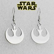 Star Wars Silver Rebel Alliance Earrings