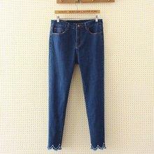 fe34be5471fad JEAN DAXIA S64 Autumn Winter Plus Size Women Clothing 4XL Casual High Waist  Stretch