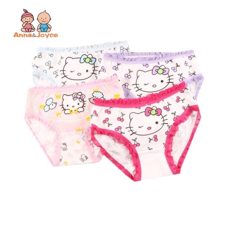 12 Teil/los Baumwolle Mädchen Höschen Baby Nette Unterwäsche Kinder Slip Mädchen Cartoon Shorts Unterhosen 2-10y Tropf-Trocken