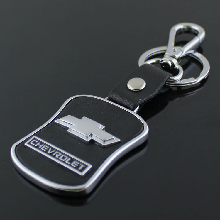 Leather Key Ring For Chevrolet Keychain Car Logo Key Chain Keyring Auto Key Pendant Chaveiro Llavero Ring Bridal Ring Supportring Waist Aliexpress