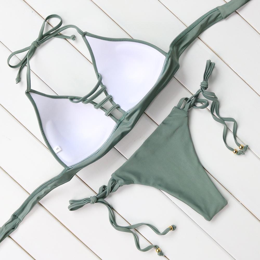 Горячая купальники бинты бикини 2016 сексуальный пляж купальники женщины купальник купальный костюм бразильские бикини установить майо де бейн biquini