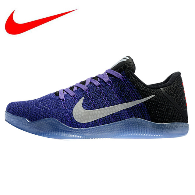 new products 9baea 2a503 nike kobe 11 elite low cheap blue and purple shoes