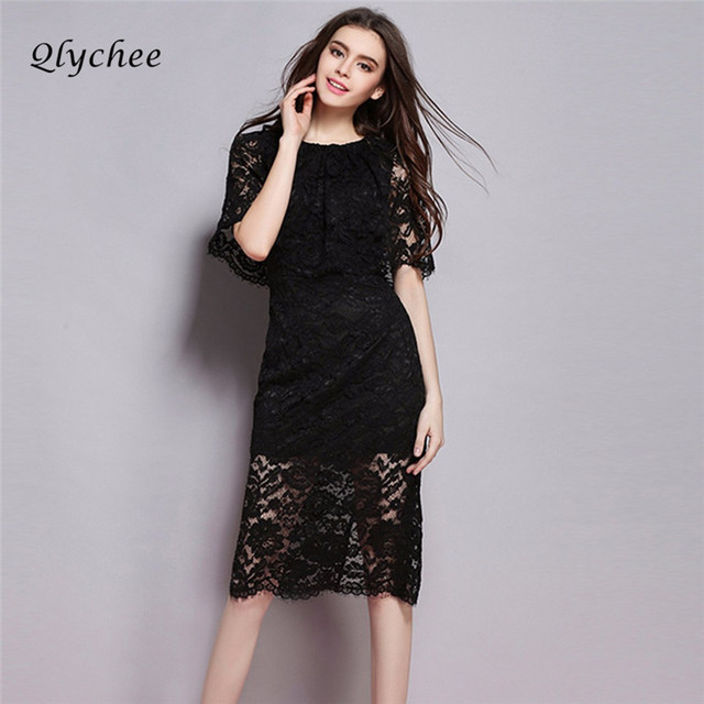 Qlychee Fashion Cute Sweet Women Dress Autumn Anese Vintage Cape Y Lace Shift