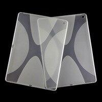Nouveau Anti-skid Mat X Soft Line Silicon Caoutchouc TPU Gel de Couverture de Peau Tablet Protecteur Cas Pour Apple iPad Plus/Pro/Maxi 12.9