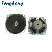 Tenghong 2 قطعة 3 بوصة 78 مللي متر مكبرات الصوت المحمولة 4Ohm 5 واط بلوتوث مجموعة كاملة المتكلم وحدة المسرح المنزلي مكبر الصوت ضوء ثقب