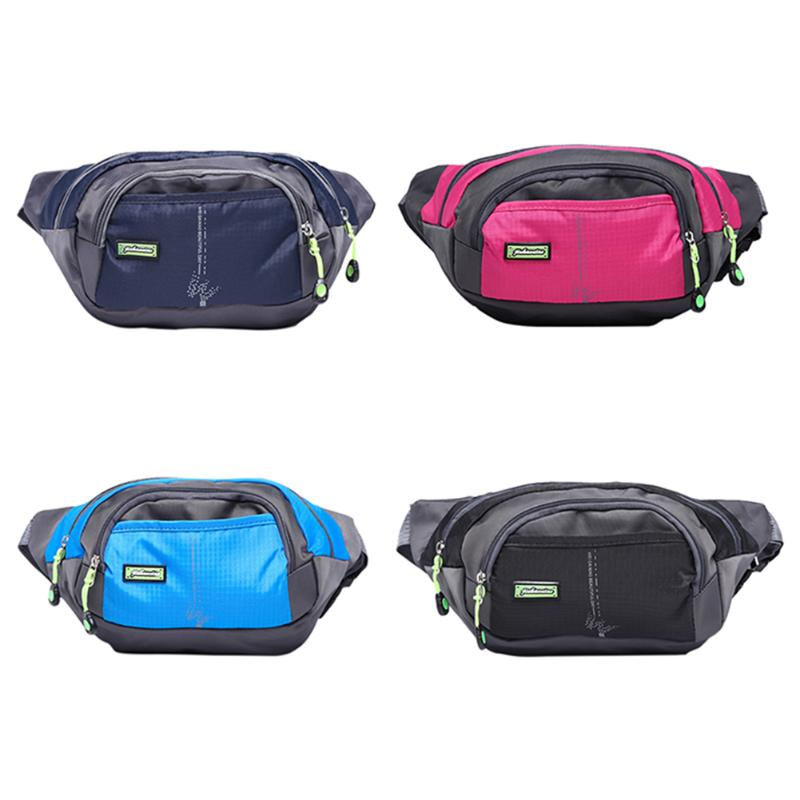 Outdoor Unisex Sports Climbing Zipper Fanny Pack Running Bags MTB Cycling Mini Waist Bag For Men/Women 4 Colors