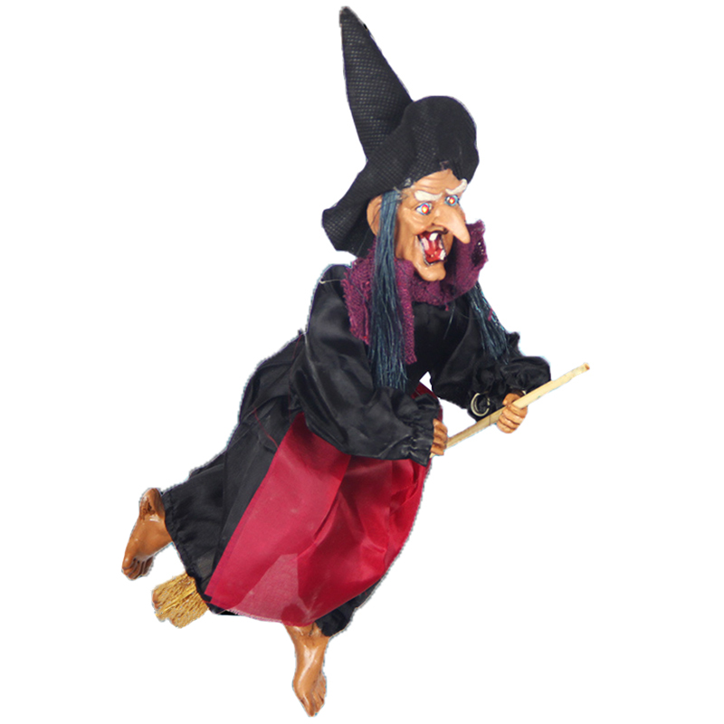 aliexpresscom buy halloween supplies bar ktv haunted house decoration props scary ghost voice touch flying witch wizard hanging ghost from reliable house - Scary Props