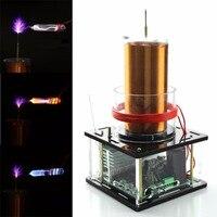 High Power Tesla Coil Module Solid Music DIY Lightning Model Educational Toy 12V