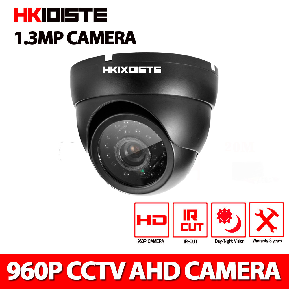 AHD Camera 720P/960P/1080P 24IR LEDS Securiy HD CCTV Camera Megapixel indoor Camera ONVIF H.264 Surveillance ...
