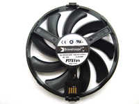 FreeShipping FDC10H12S9-C Cooler Fan Replace For XFX AMD Radeon R7 370 RX 470 480 570 580 RX460 RX 460 Graphics Card Cooling Fan