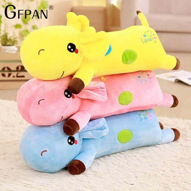 GFPAN High Quality 90cm Cute Giraffe Toys Stuffed Animal Doll Stuffed Giraffe Toy Lowest Price Birthday Gift For Kids Children