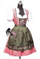 New Oktoberfest Beer Festival October Maid Skirt Dress Maid Skirt Apron Costume Girls Women Banquet Activities