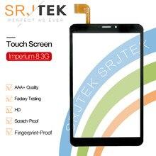 Новый черный планшетный ПК Srjtek 8 дюймов для Explay Imperium 8 3G, сенсорный экран с дигитайзером, стеклянная панель, сенсор, запасные части