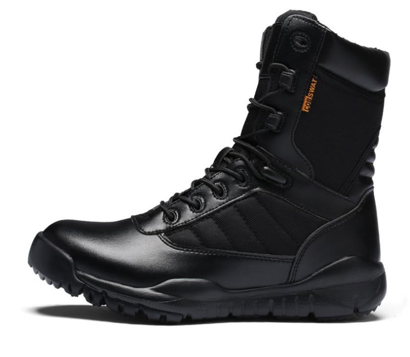 Preto Swat Dos Exército Homens Do Zapatos Militares Da Tacticos Táticos Tornozelo Botas Bota Sapatos De Deserto Safty Combate Trabalho 1gw1FqU