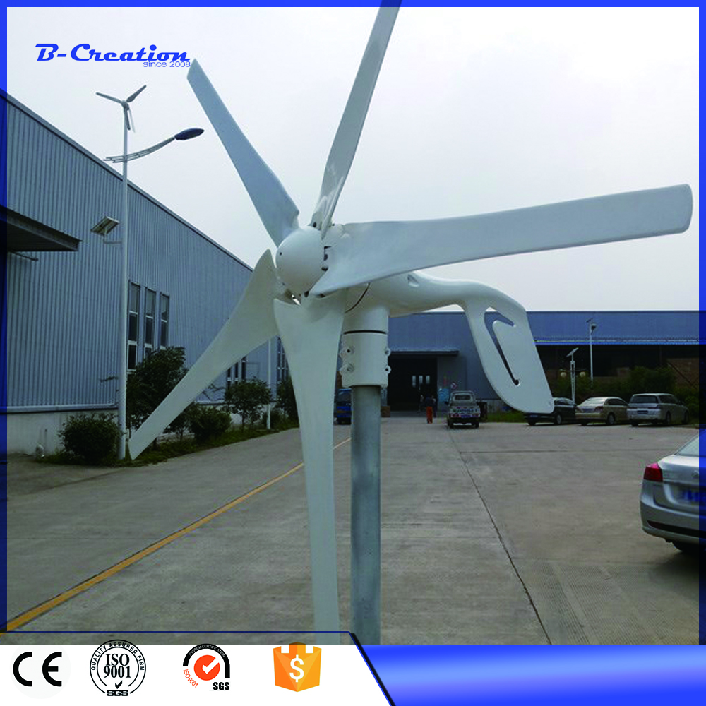 Combine with solar panel wind turbinen-generator 400w 12V/24v AC output with Good Quality, 3 Years Warranty FOR HOME USE