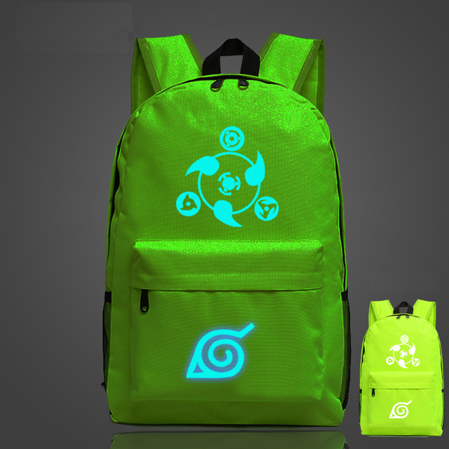 Naruto Luminous Canvas Travel Laptop Bag