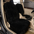 1 piece price free shipping hot selling American style sheepskin car seat cover for car front seat auto interior accessories