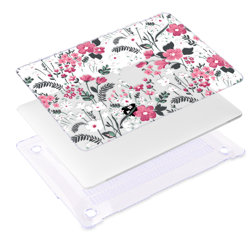 Redlai Colorful Flowers Case for MacBook 38